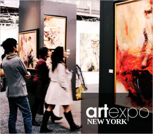 Go van Kampen Art at Art Expo New York 2015