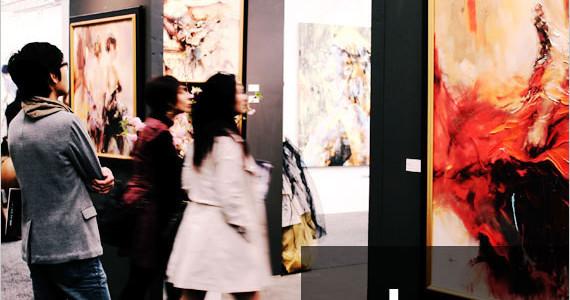 Go van Kampen Art at Art Expo New York 2015
